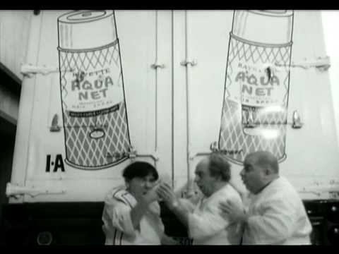 Three Stooges Commercial for Aqua Net Hairspray