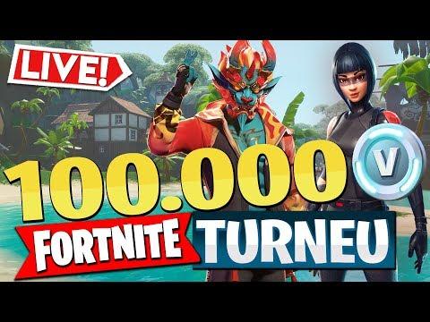 TURNEUL YOUTUBERILOR - PREMIU 100.000 V-BUCKS