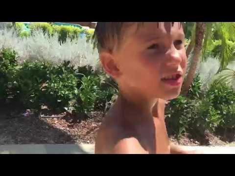 Влог Путешествие в аквапарк отеля Риксос Ленд оф Легендс Турция