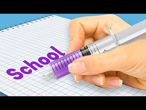 32 SCHOOL AND STATIONERY HACKS