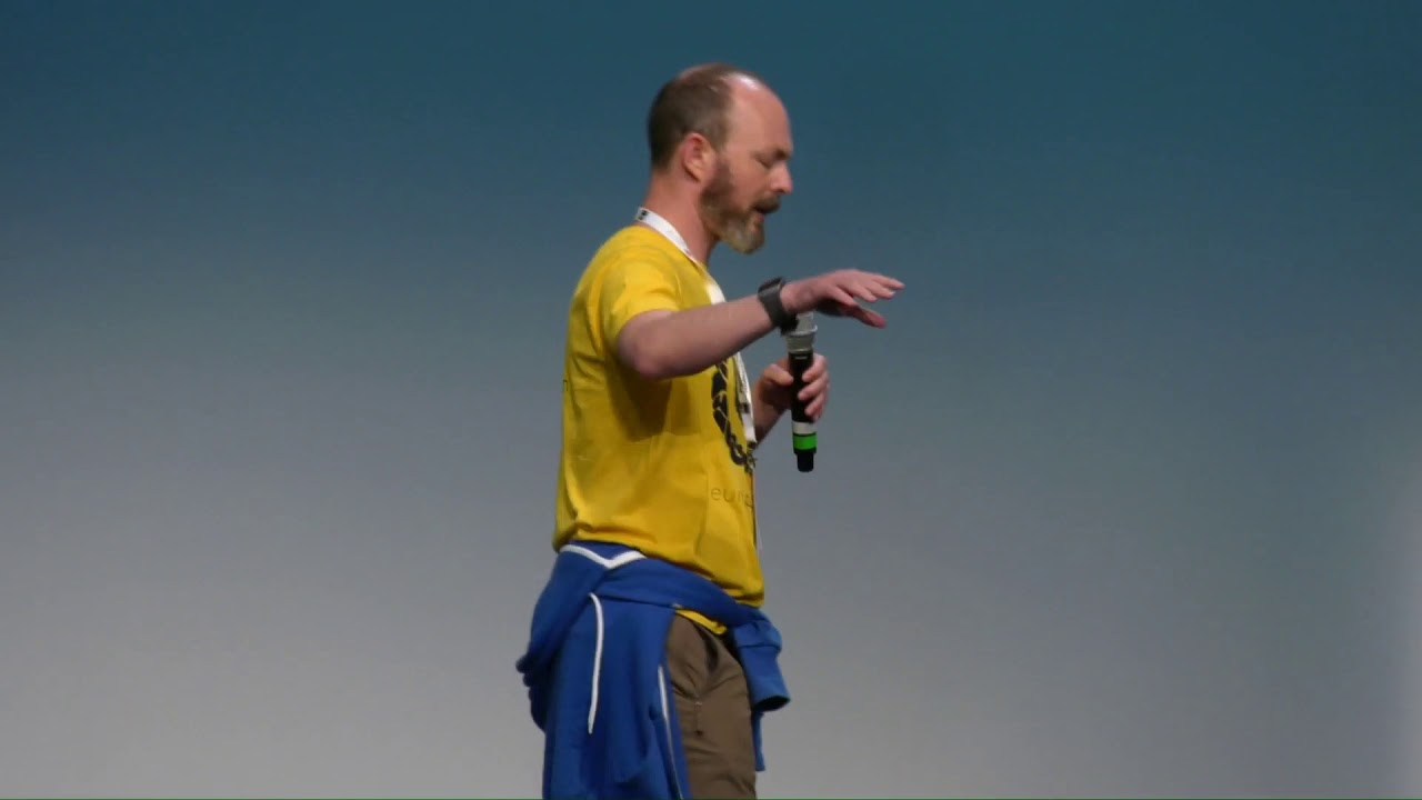 Image from EuroPython 2019 - Lightning talks on Wednesday, July 10