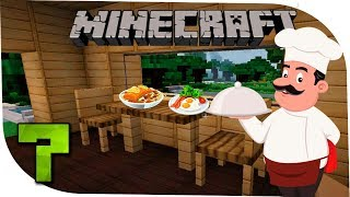 Minecraft С модами 7 Время для кулинарии