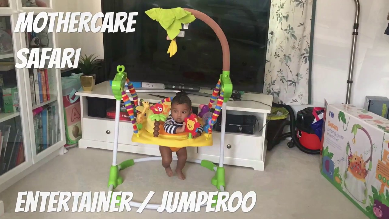 ff27ca838bbb Mothercare Jumperoo  Entertainer unboxing - YouTube