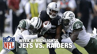 Jets vs. Raiders | Week 8 Highlights | NFL