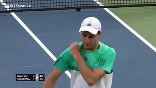 Hot Shots: Aslan Karatsev - 2021 Dubai Duty Free Tennis Championships