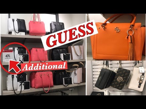 Macy's GUESS HANDBAGS,WALLET DISPLAY 2019| SHOP WITH ME!