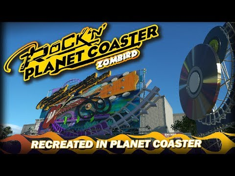 Rock 'n' Rollercoaster Starring Aerosmith - Walt Disney Studios - Recreated In Planet Coaster
