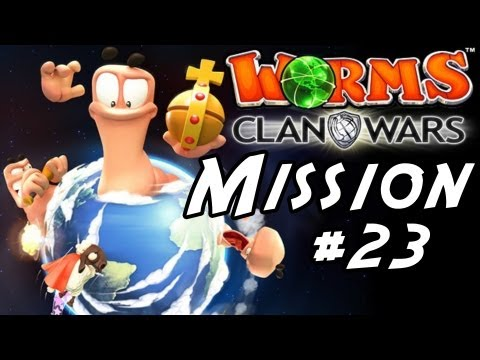 Worms Clan Wars Singleplayer Gameplay / Walkthrough Part 23 - Factory Settings ( Story Mission 23 )