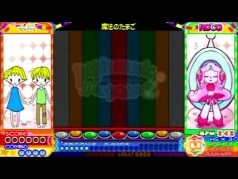 pop'n music portable 2 - 魔法のたまご gameplay