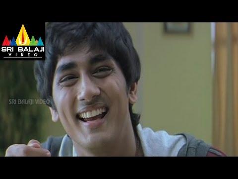 Nuvvostanante Nenoddantana Comedy Scenes Back To Back   Siddharth, Trisha   Sri Balaji Video