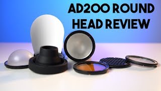 Godox AD200 Round Head Review Flashpoint Evolv 200 Flash