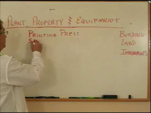 Plant Property And Equipment