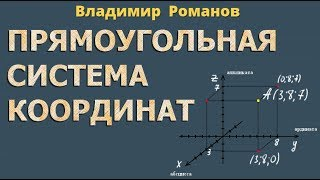 стереометрия ПРЯМОУГОЛЬНАЯ СИСТЕМА КООРДИНАТ В ПРОСТРАНСТВЕ 10 и 11 класс