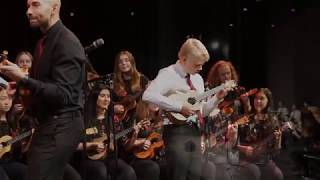 The Langley Ukulele Ensemble - One Love One Heart