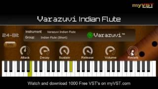 Varazuvi Indian Flute - Free VST - myVST Demo
