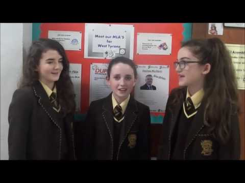 Loreto Grammar School Omagh - Voting in 2017