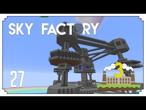 ►Sky Factory 3: EPIC REACTOR UPGRADE! (Modded Minecraft #27)◄