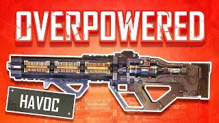 THE NEW GUN IS ABSOLUTELY OVERPOWERED! (Apex Legends)