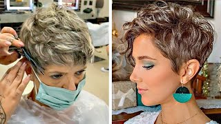 12 Pixie Cut Tutorial Compilation | New Bob & Short Layered Haircut Ideas | Trendy Hairstyles 2020