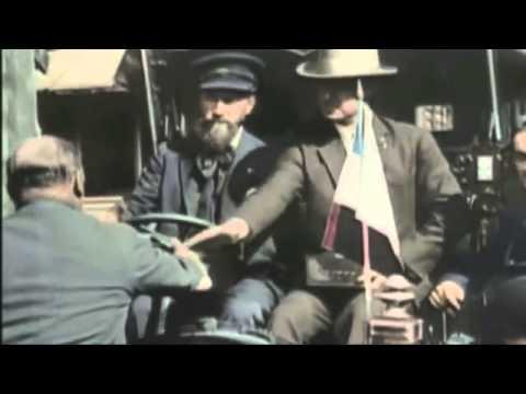 PARIS 1900 - 1930 la belle époque film en couleur rare