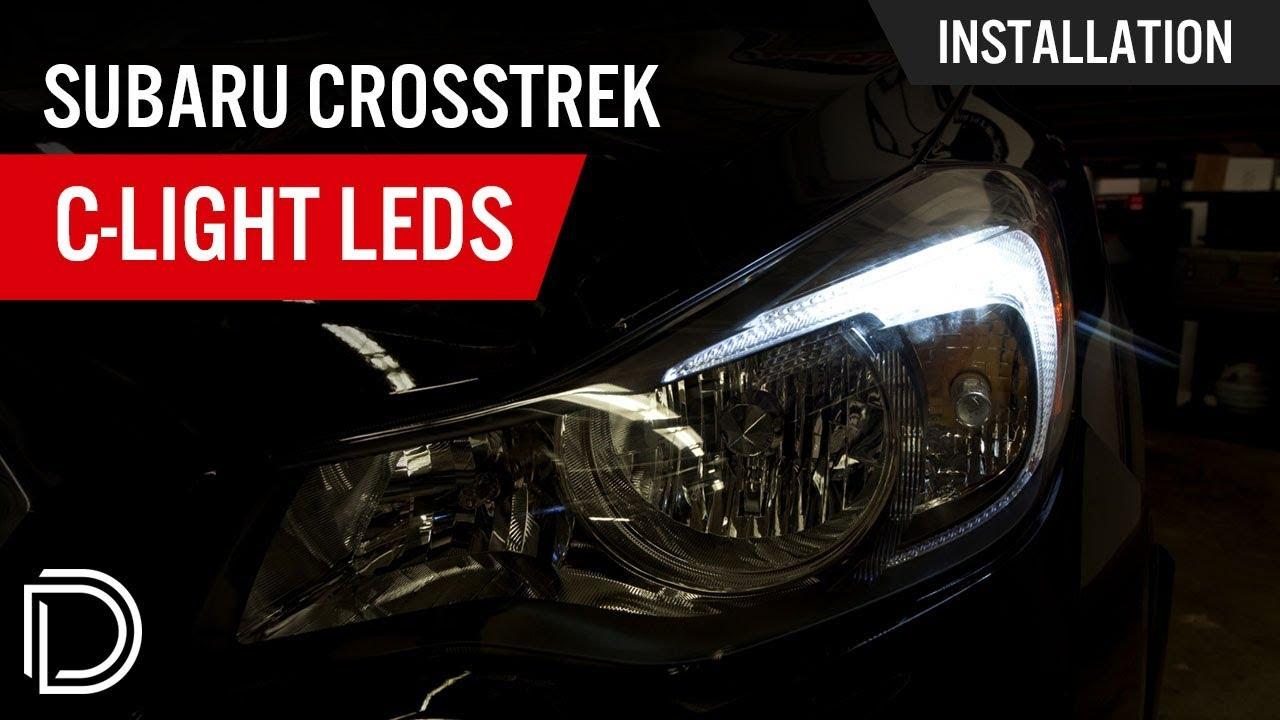 How To Install Subaru Xv Crosstrek Boomerang C Light Leds