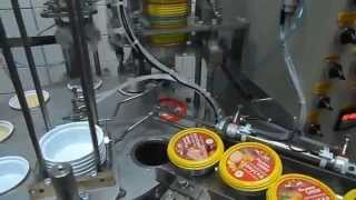 Упаковочное оборудование. Автомат фасовки в пластиковые стаканчики(, 2013-11-05T14:58:42.000Z)