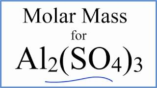 Molar Mass/Molecular Weight Calculation with Parentheses (Example)