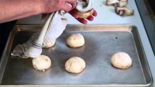 Mushrooms Stuffed With Jarlsberg Dip : Elegant Appetizers