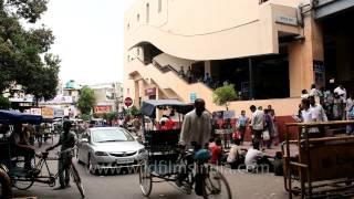 Karol Bagh metro station exit gate