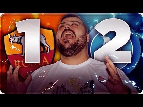 ROMA 1-2 NAPOLI REAZIONE DA BRIVIDI 27^ GIORNATA !!!