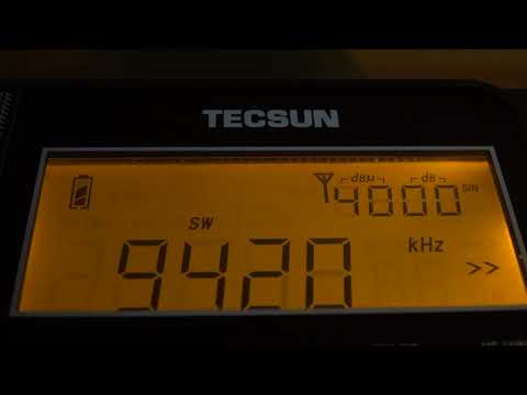 Tecsun PL-880 Shortwave Radio | Scanning for Stations