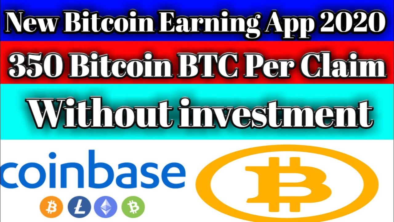 New Bitcoin Earning App 2020||how To Earn money online in ...