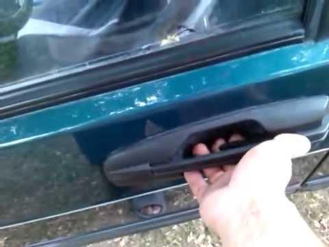 ВАЗ 2109 - плохо открывается дверь снаружи