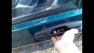 видео Регулировка замка двери ВАЗ 2109