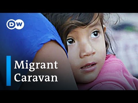 Hope and despair at US-Mexico border in Tijuana | DW News