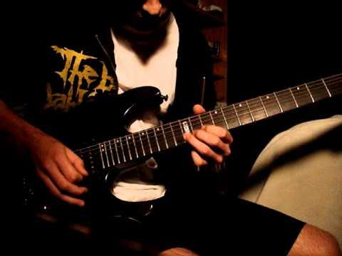 Escape The Fate - Massacre guitar cover