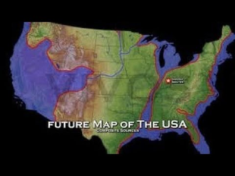 Map Of America 2050.New Agenda 2050 Map Show Us Your Papers