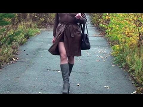 Crossdressed in public - YouTube