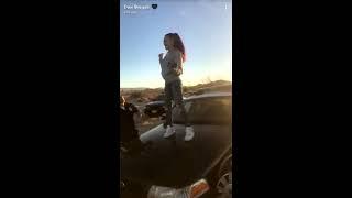 Danielle Bregoli Acting Ignorant With The Cops