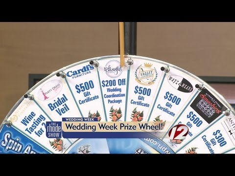Wedding Wheel Prize