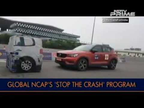 Ford Freestyle in Global NCAP safety show (2018)