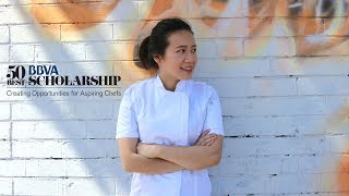 Jessie Liu wins the first 50 Best BBVA Scholarship