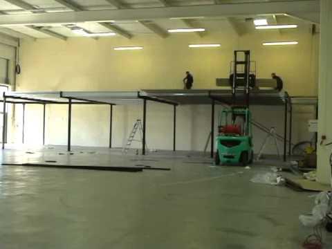 Installing A Mezzanine Floor Youtube