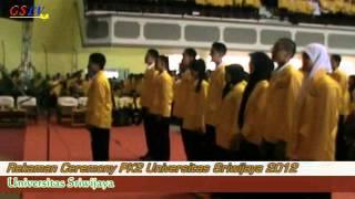 Record ceremony PK2 Unsri 2012