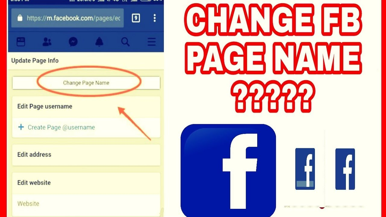 Can we change Facebook page name leagly???