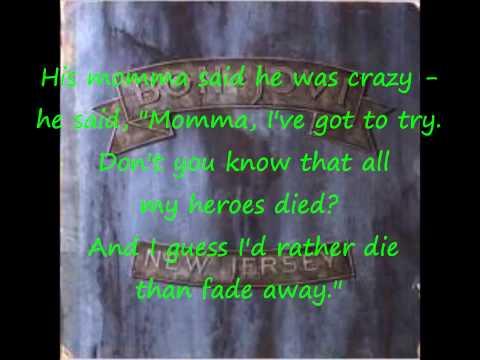 Bon Jovi- These Days (w/lyrics)