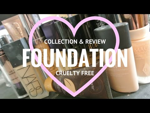 Foundation Collection + Reviews | Cruelty Free!