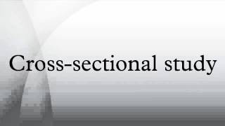 Cross-sectional study