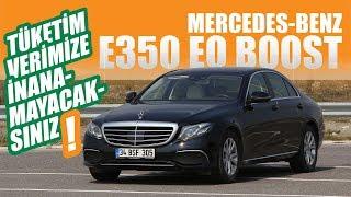 Tüketim Verimize İnanamayacaksınız! | Mercedes E350 EQ Boost