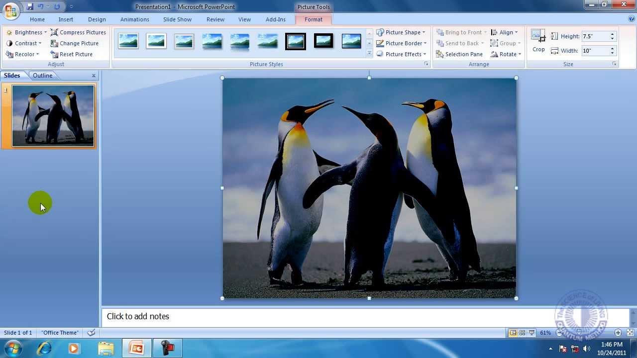 Slide show view in powerpoint tutorial teachucomp, inc.